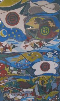 Muurschildering Scheppingsverhaal - Kardinaal de Jongschool Haarlem - 1961