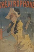 Jules Cheret - Affiche voor de Theatrophone - 1890