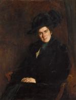 Portret van Lide Doorman