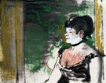 Edgar Degas - Zangeres in een café-concert - 1875-76