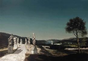 Landschap met zeven beelden - 1941