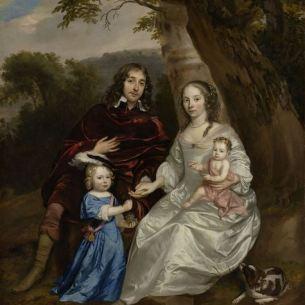 Jan Mijtens - Govert van Slingelandt en zijn gezin - 1657