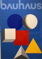 Herbert Bayer - Affiche 50 jaar Bauhaus - 1968